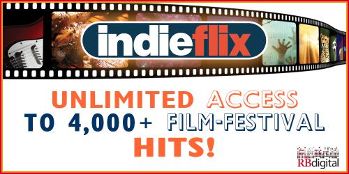 IndieFlix web banner