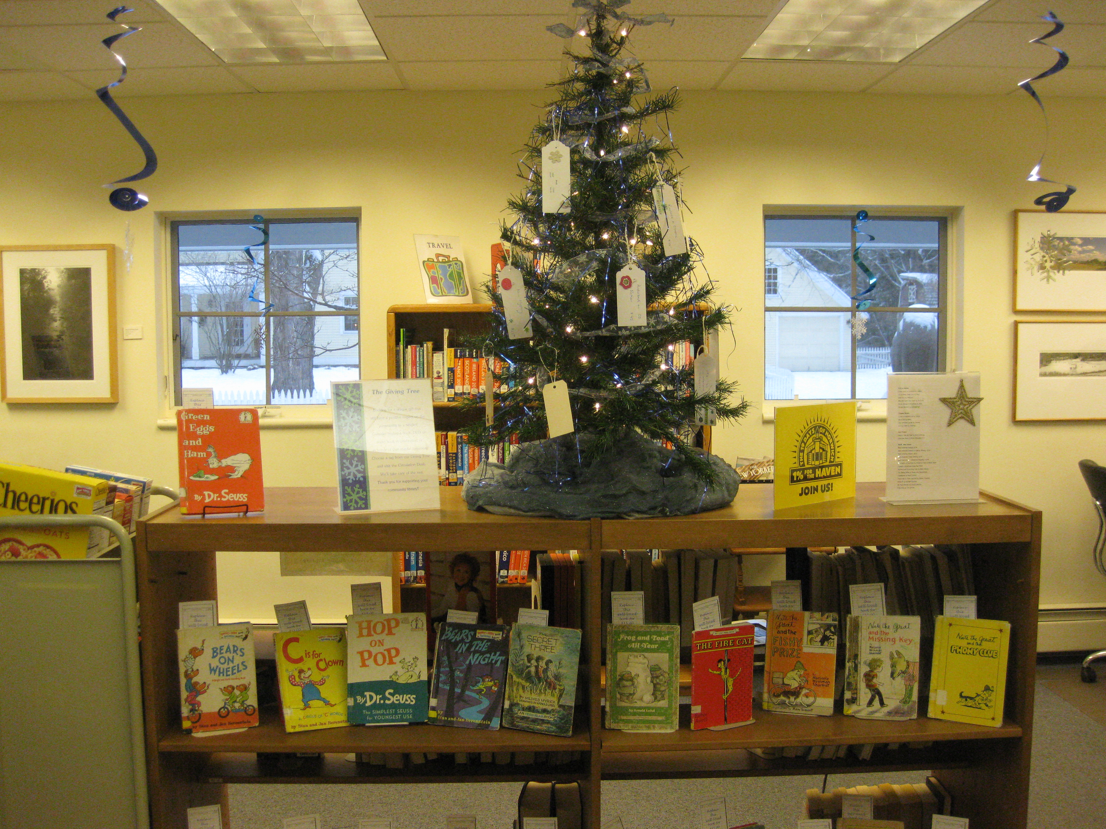 Give a Gift: The NPL Giving Tree