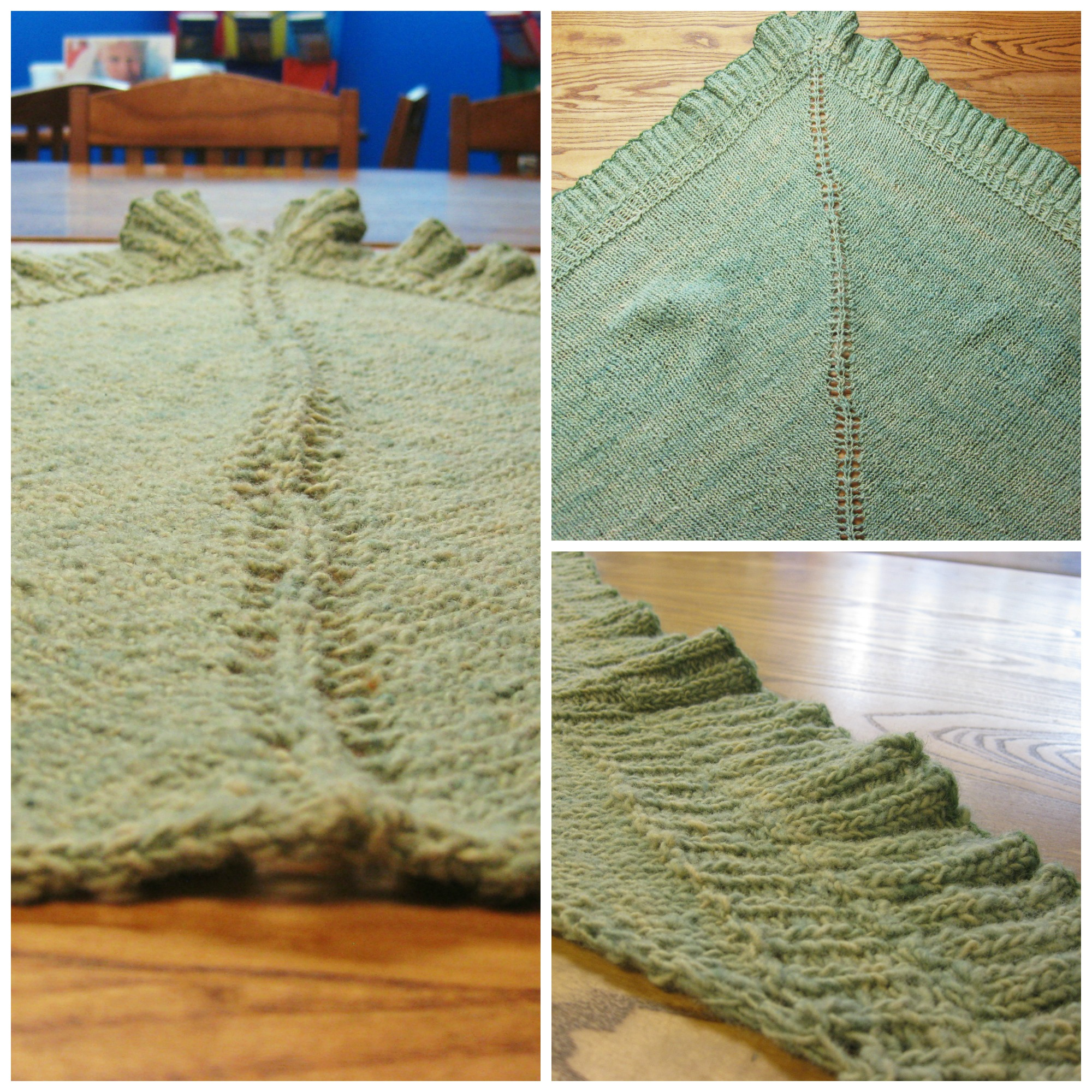 Winner Announced: The Green of Spring Shawl