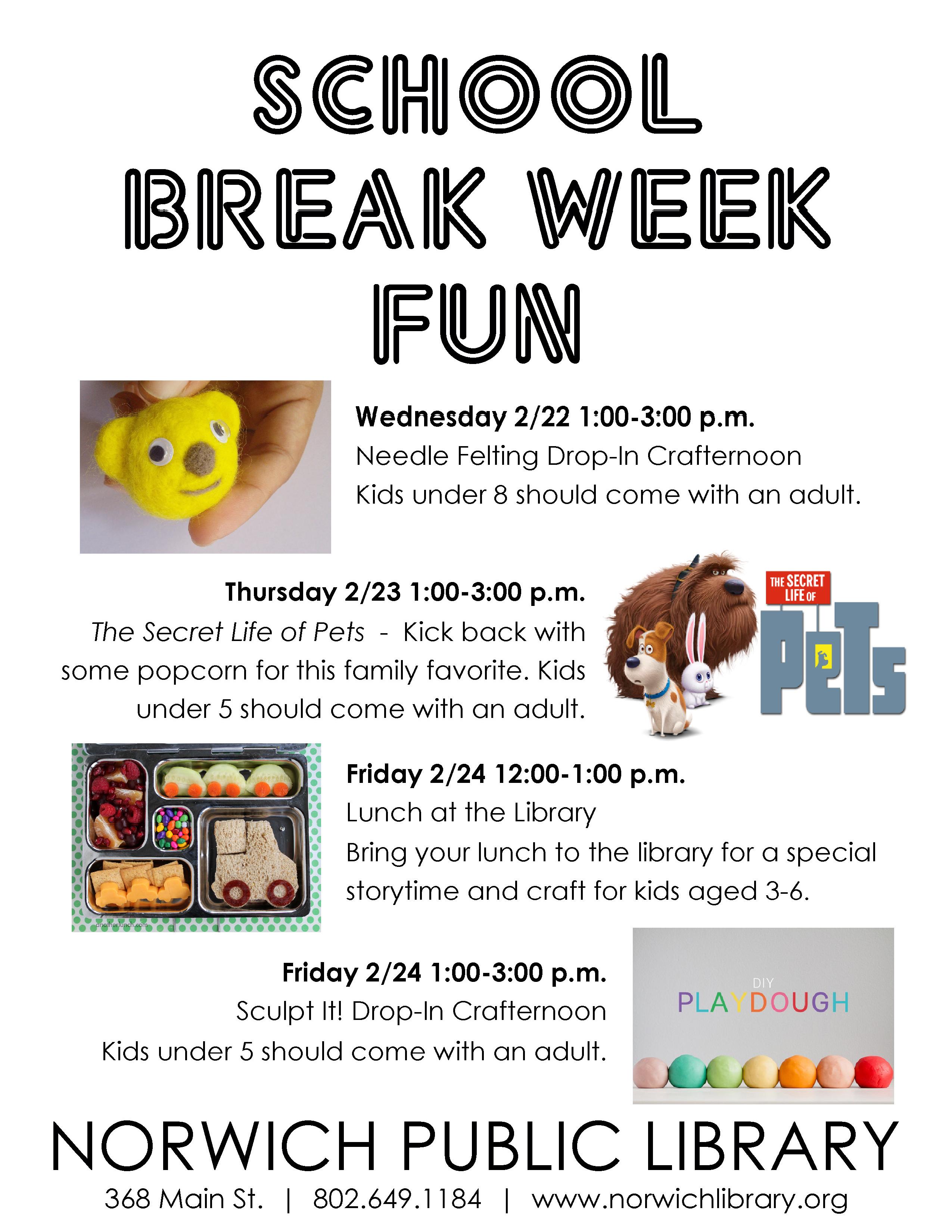 School Break Week Fun
