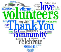 April is National Appreciation for Volunteers Month!