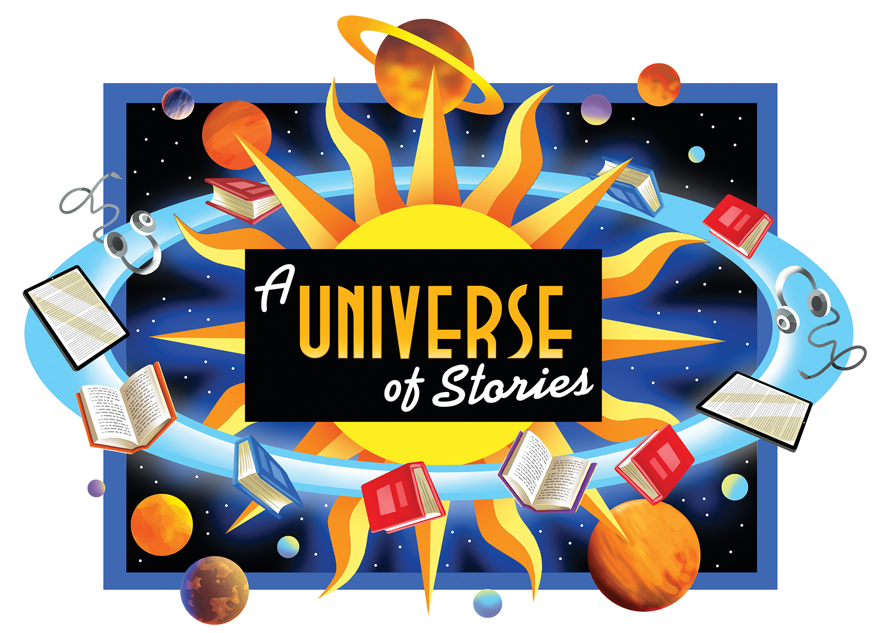 A Universe of Stories for High School