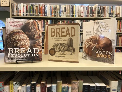 Cookbooks on Bread and Breadmaking